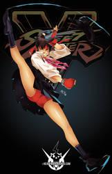 Street Fighter V- Sakura by HeavyMetalHanzo