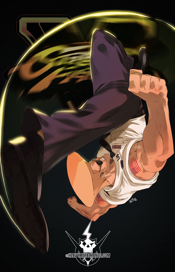 Street Fighter V- Guile by HeavyMetalHanzo