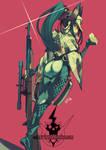 Valkyria Chronicles 4- Kai by HeavyMetalHanzo