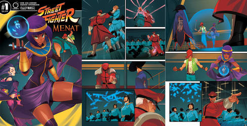 Street Fighter Menat #1 Preview by HeavyMetalHanzo