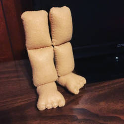 Pear of Plush legs for sale  by clock-guy
