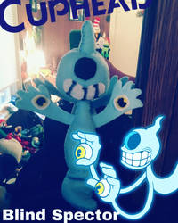 Cuphead plush: Blind Spector  by clock-guy
