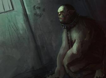Beast man by bradwright