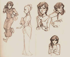 Claidi doodles by Kecky