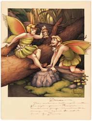 Carnivorous Fairies - Dionaea by Kecky