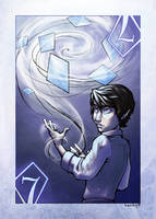 7 of Diamonds by Kecky