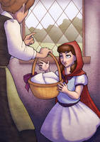 Little Red Riding Hood scene 1 by Kecky
