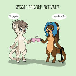 Wiggle Brigade by TwistTail