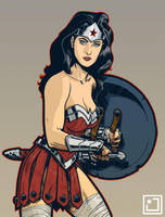 Wonder Woman by joshhood