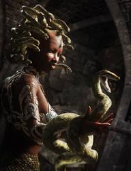 The Gorgon by RawArt3d