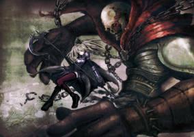 Death Knight by wacchi30