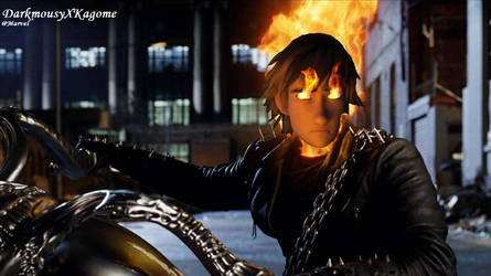 Ghost Rider by DarkMousyxKagome