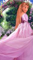 Lavender Princess by DarkMousyxKagome