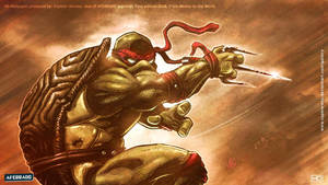 TMNT Raphael  HD wallpaper by CapMoreno