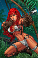 Red Sonja Cover Colors by CapMoreno