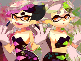 Squid Sisters by TFOTR