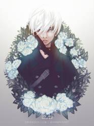 9s- Nier:Automata by Mikanpen