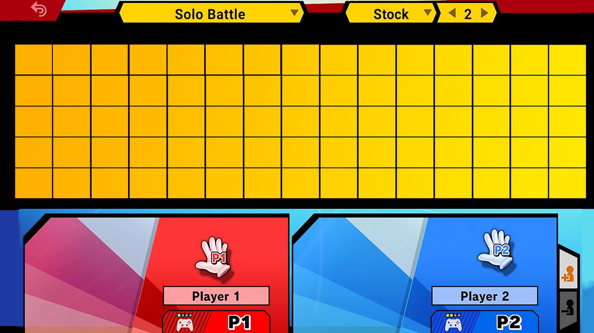 smash ultimate roster template by mathew swift va on deviantart