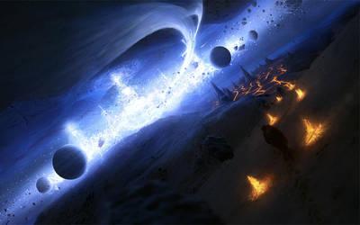 Birth of a Solar System by ErikShoemaker