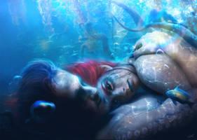 Lain With the Kraken by ErikShoemaker