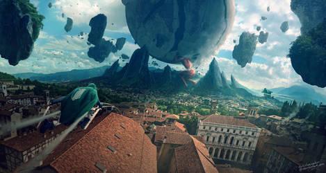 Colossal Titan by ErikShoemaker