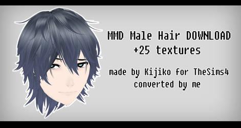 MMD - Watchers Gift - Male Hair by Kijiko download by IamMaemi