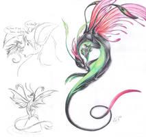 The Dragonfly by Wazaga