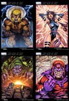 Marvel Trading Cards Set 01 by juan7fernandez