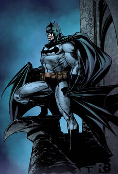 Batman Ryan Benjamin (Warmup) by juan7fernandez