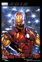 Iron Man Trading card by juan7fernandez