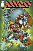 Youngblood 75 cover B by juan7fernandez
