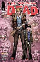Walking Dead 1 variant cover by juan7fernandez