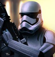 Episode 7 Stormtrooper v02 by juan7fernandez