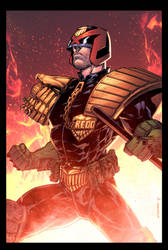 Dredd-commission-colors final by juan7fernandez