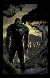 Swamp Thing by juan7fernandez