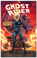 Ghost Rider classic by juan7fernandez