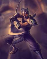 shen from league of legends by TiTaN2TeN