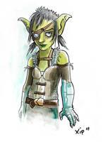 Thief goblin Nomy by mayu