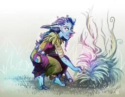 Rosalila Druid Trill by mayu