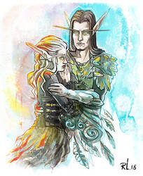 Elven couple by mayu