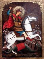 Saint George by GalleryZograf