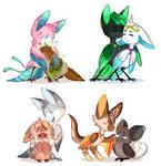 [Torimori] A bunch of healers by KetLike