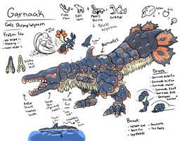 Gale Shrimp Wyvern Garnaak by KronnicK