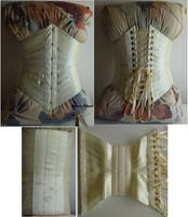 Lemon Yellow Ribbon Corset by sidneyeileen