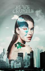 WATTPAD COVER | as we crumble by Diagonas