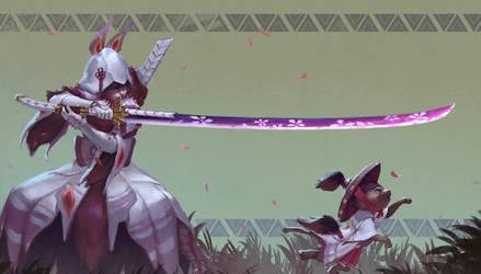 Mizutsune blademaster set by DigitalSashimi
