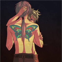 Butterfly Lovers by Gabbi