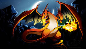 Pokemon - Mega Charizard by Gabbi
