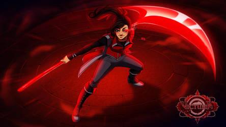 Victubia - The Crimson Warrior by Gabbi