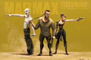 Mad Max fury road - fanart by Victorior